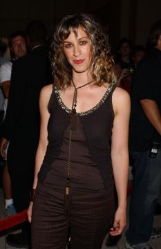 Alanis Morissette - Hollywood - 01-09-2005 - Alanis Morissette è diventata mamma per la terza volta