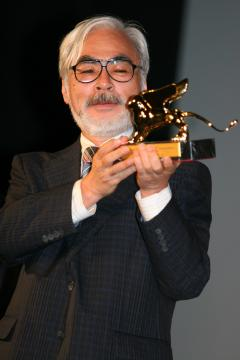 Hayao Miyazaki - Venezia - 11-09-2005 - Venezia 70: Miyazaki pronto a ritirarsi
