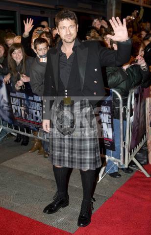 Gerard Butler - Glasgow - 16-11-2009 - Uomini con le gonne: ecco i più sexy in kilt!