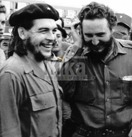 Che Guevara, Fidel Castro - Cuba - 17-11-2009 - Jennifer Lawrence sarà Marita Lorenz, l'amante di Fidel Castro
