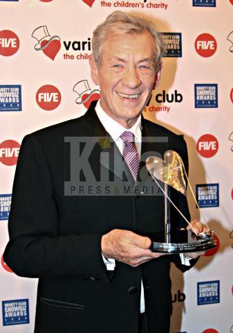 Ian McKellen - Londra - 17-11-2009 - Ian McKellen e Andy Serkis torneranno per lo Hobbit