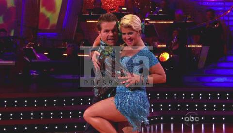 Louis van Amstel, Kelly Osbourne - Los Angeles - 03-11-2009 - Kelly Osbourne dovra' operarsi dopo Dancing with the stars