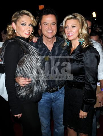 Debbie Osmond, Kym Johnson, Donny Osmond - West Hollywood - 14-10-2009 - Kelly Osbourne perde la finale di Dancing with the stars ma conquista l'autostima