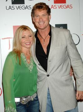 moglie, David Hasselhoff - Las Vegas - 26-09-2005 - TV – USA: ordine a Hassellhoff (Baywatch), lontano da moglie
