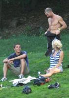 Jamie Padgett, Pamela Anderson - Los Angeles - 25-10-2009 - Pamela Anderson e' tornata single dopo la breve love story con Jamie Padgett