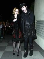 Marilyn Manson, Evan Rachel Wood - Las Vegas - 06-01-2009 - Dita Von Teese lascia un'intervista per una domanda su Marilyn Manson