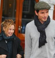Andres Velencoso Segura, Kylie Minogue - Londra - 13-01-2010 - Ancora solido l'amore tra Kylie Minogue e il fidanzato