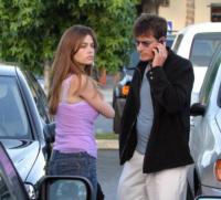 Charlie Sheen, Denise Richards - Malibu - 09-05-2004 - Charlie Sheen fa la pace con l'ex moglie Denise Richards