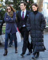 Ed Westwick, Leighton Meester, Laura Harring - New York - 01-12-2009 - Leighton Meester e Ed Westwick danno scandalo al ristorante