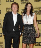 Nancy Shevell, Paul McCartney - Hollywood - 15-01-2010 - Sandra Bullock e Meryl Streep migliori attrici a pari merito ai Critics' Choice Awards