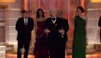 Sam Worthington, Zoe Saldana, James Cameron, Sigourney Weaver - Los Angeles - 17-01-2010 - James Cameron prepara non uno ma quattro sequel di Avatar
