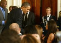 """Khloe Kardashian, Barack Obama - Washington - 25-01-2010 - Matt Damon contro Obama: """"Ha divorziato da me"""""""