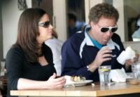 moglie, Will Ferrell - Hollywood - 26-03-2009 - Will Ferrell padre per la terza volta