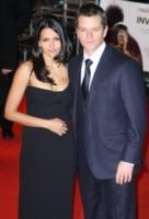 Luciana Damon, Matt Damon - Londra - 31-01-2010 - Matt Damon racconta il segreto del rapporto con la moglie