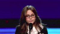 Paris Jackson - Los Angeles - 31-01-2010 - I figli di Michael Jackson ancora sul palco per ricordare il padre ai Grammy Awards