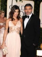 Elisabetta Canalis, George Clooney - Beverly Hills - 17-01-2010 - Due Ryan Bingham candidati all'Oscar