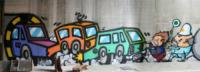 Daniele Nicolosi in arte Bros - Milano - 03-02-2010 - Graffiti: il Comune di Milano contro Bros