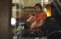 Ines Biaggi, Eleonora Pedron - Roma - 07-02-2010 - Max Biaggi da motociclista spericolato a padre di famiglia