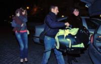 Max Biaggi, Eleonora Pedron - Roma - 07-02-2010 - Max Biaggi da motociclista spericolato a padre di famiglia