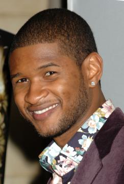 Usher - Hollywood - 17-10-2005 - Usher e Fergie nel film su James Brown
