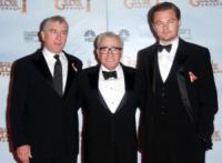 Martin Scorsese, Robert De Niro, Leonardo DiCaprio - Beverly Hills - 17-01-2010 - Martin Scorsese e Robert De Niro rifanno Taxi Driver