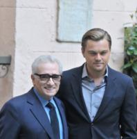 Martin Scorsese, Leonardo DiCaprio - Roma - 08-02-2010 - Martin Scorsese e Robert De Niro rifanno Taxi Driver