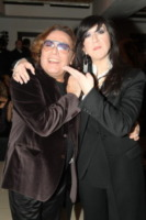 Leopoldo Mastelloni, Emanuela Aureli - Roma - 17-02-2010 - Maria Monsè festeggia il compleanno a Roma