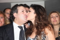 Salvatore Paravia, Maria Monsè, Nadia Bengala - Roma - 17-02-2010 - Maria Monsè festeggia il compleanno a Roma