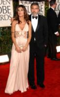 Elisabetta Canalis, George Clooney - Los Angeles - 17-01-2010 - Elisabetta Canalis debutta sulla tv statunitense