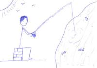 Disegno Nicholas Hoult - Le star disegnano per beneficenza