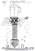 Disegno Greg Wise - Le star disegnano per beneficenza