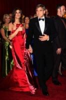Elisabetta Canalis, George Clooney - Los Angeles - 07-03-2010 - George Clooney testimoniera' in tribunale a Milano