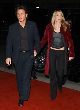 Robin Wright, Sean Penn - Beverly Hills - 06-11-2003 - Anche Mel B divorzia, la classifica delle ex coppie più longeve