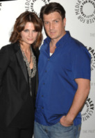 Nathan Fillion, Stana Katic - Los Angeles - 16-03-2010 - Dal 2 dicembre Fox presenta l'ottava stagione di Castle