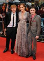 Emma Watson, Daniel Radcliffe, Rupert Grint - Londra - 08-07-2009 - Il fuoco colpisce il set di Harry Potter