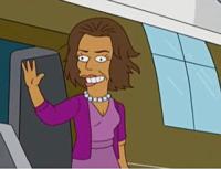Michelle Obama - Springfield - 23-03-2010 - Adele entra nel club delle star