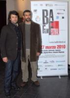 Gian Paolo Cugno, David Coco - busto arsizio - 27-03-2010 - Busto Arsizio Film Festival: la nipote di Charlie Chaplin alla premiere del film La Bella Societa'