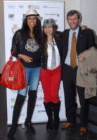 Jeanene Fox, Cassandra Gava - busto arsizio - 27-03-2010 - Busto Arsizio Film Festival: la nipote di Charlie Chaplin alla premiere del film La Bella Societa'