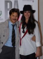 Oona Chaplin, Marco Filiberti - busto arsizio - 27-03-2010 - Busto Arsizio Film Festival: la nipote di Charlie Chaplin alla premiere del film La Bella Societa'