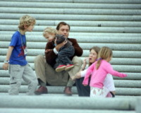 Daisy Wright, Jude Law - Louisiana - 18-07-2005 - Mel B - Stephen Belafonte: anche per loro, galeotta fu la tata