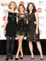 Cynthia Nixon, Sarah Jessica Parker, Kristin Davis - Las Vegas - 18-03-2010 - John Corbett al cinema con Sex and the city 2
