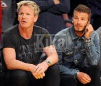 Gordon Ramsay, David Beckham - Los Angeles - 11-04-2010 - Continua il successo di Hell's Kitchen su Fox