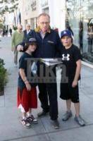 Cannon, Chance, Larry King - Los Angeles - 02-12-2009 - Larry King divorzia per l'ottava volta