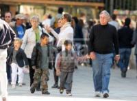 Shiloh Jolie Pitt, Maddox Jolie Pitt, Zahara Jolie Pitt, Pax Thien Jolie Pitt, William Pitt, Jane Pitt - Venezia - 17-04-2010 - Figli delle stelle, non ci fermeremo per niente al mondo