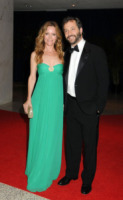 Judd Apatow, Leslie Mann - Washington - 01-05-2010 - Judd Apatow non rivela la nomination ai Golden Globe per festeggiare la figlia