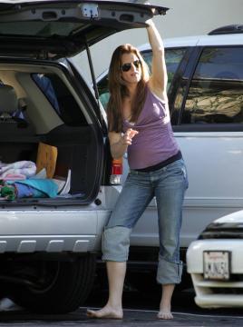 Brooke Shields - Malibu - 21-11-2005 - Brooke Shields da alla luce il suo secondo figlio