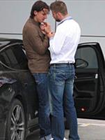 Gerard Piqué, Zlatan Ibrahimovic - Barcellona - 07-05-2010 - Ibra,     ma     come    ti     vesti?