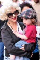 Max, Christina Aguilera - New York - 08-05-2010 - Christina Aguilera e' ancora attratta dalle donne