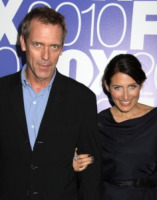 Hugh Laurie, Lisa Edelstein - New York - 17-05-2010 - Dr House diventa missionario in Mr Pip