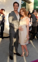 Kimberly Brook, James Van Der Beek - Los Angeles - 26-05-2010 - James Van Der Beek annuncia su Twitter la nascita della figlia Olivia